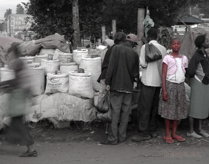 Meisje Kenia