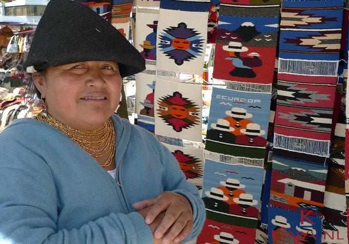 Op de markt in Otavalo…